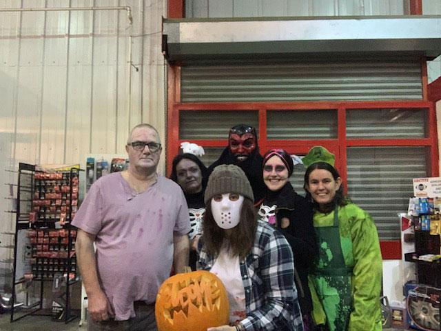Spooky Spalding