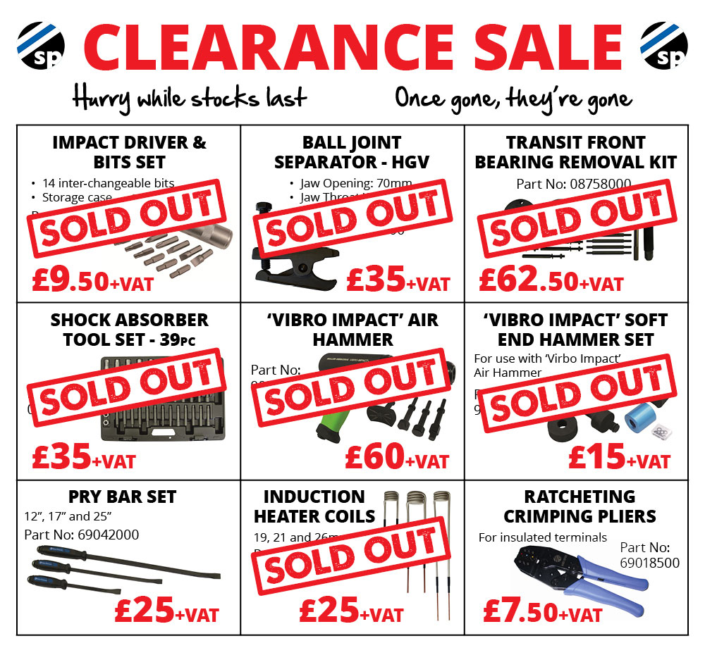 EU Clearance Sale - Sykes Pickavant