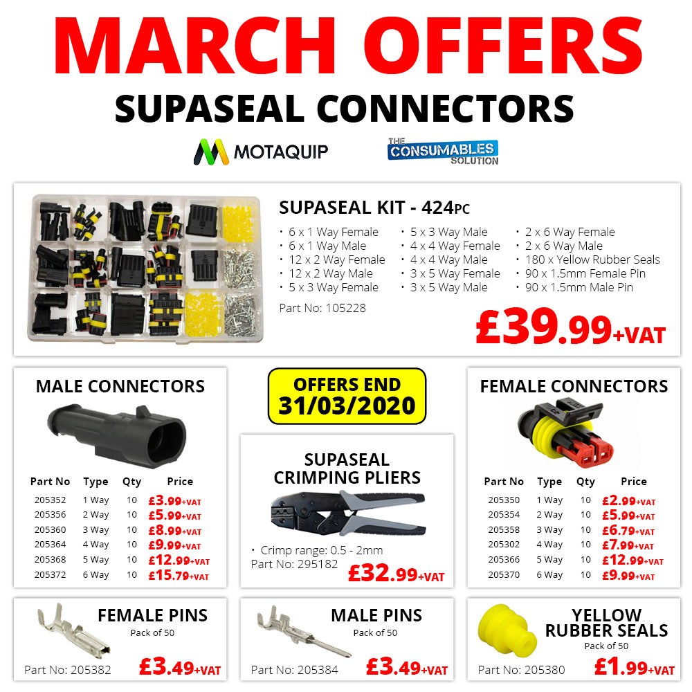 Linco March Offers - Supaseal Connectors