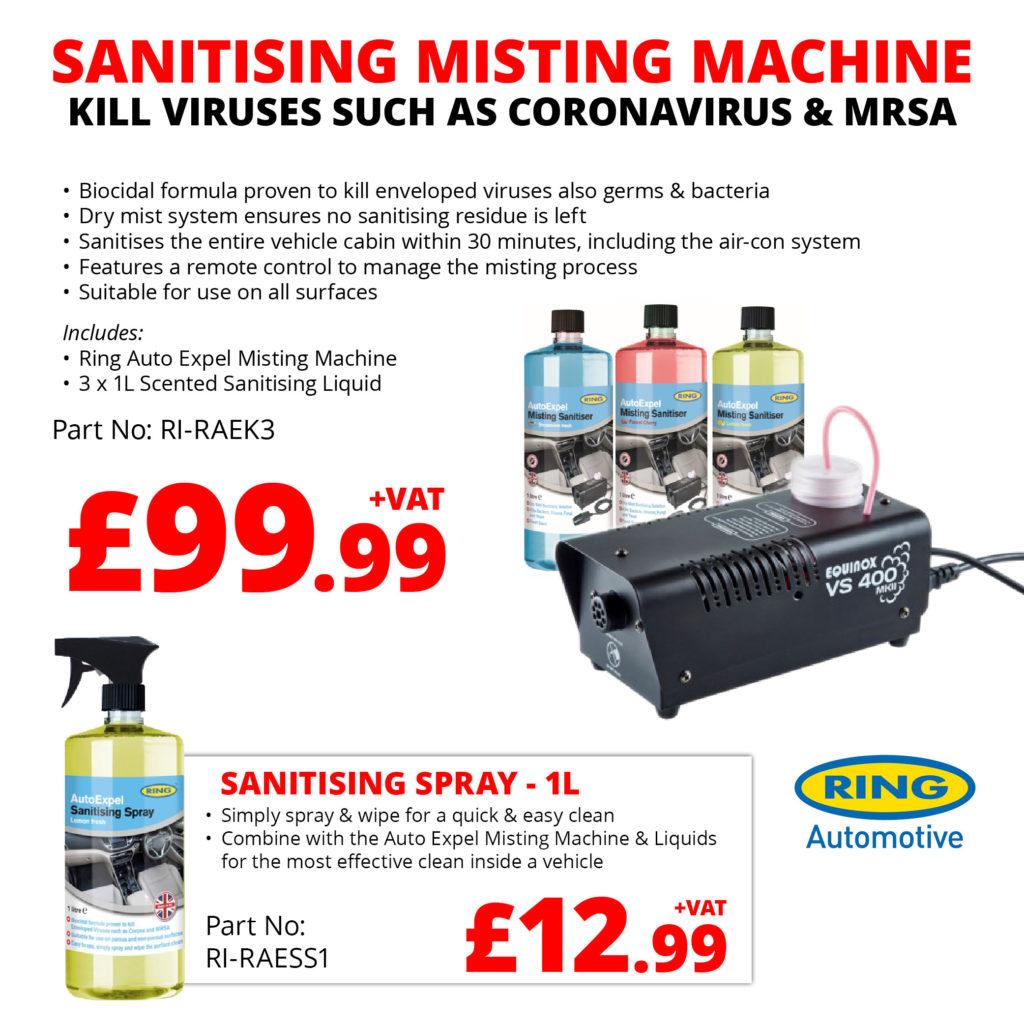 EU Linco Misting Machine