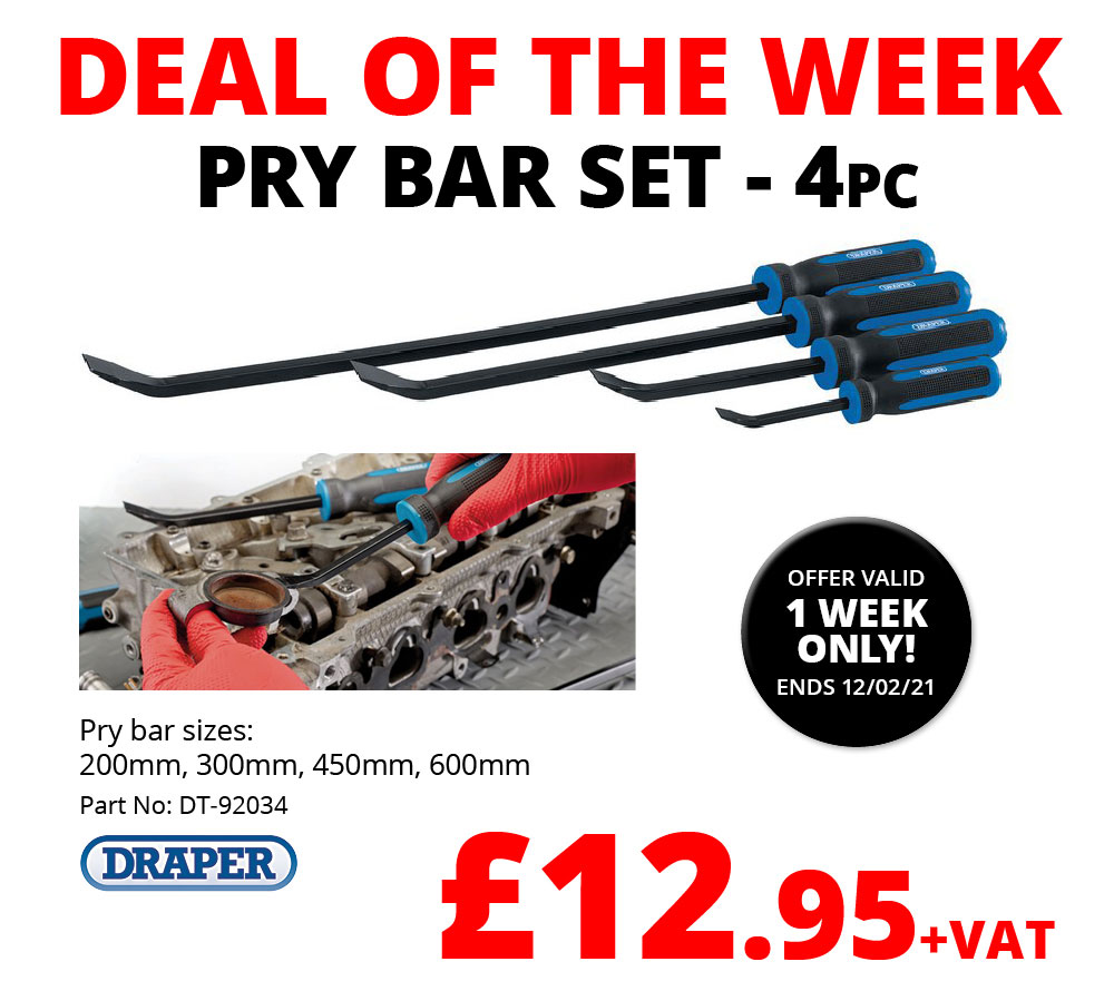 EU Deal of the Week - Pry Bar Set