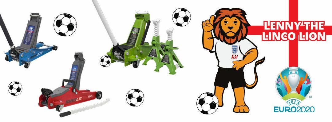 Linco – Lenny the Linco Lion Trolley Jacks Offers